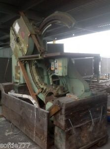 Tannewitz Model B ii 29 X 24 Band Saw 15 Hours Only oc85 Price Drop