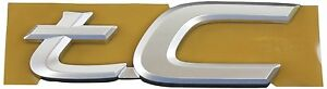 Genuine Scion Tc Back Door Emblem Name Plate Badge 7544521080 Oem Brand New Item