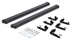 Running Boards Fit 02 06 Chevy Avalanche 1500 2500 Side Steps Bar Black 03 04 05