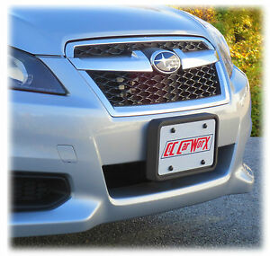 Front License Plate Bracket By C c Carworx For 2013 2014 Subaru Legacy Ls 13 fp