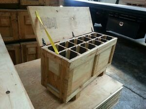 Plywood Box W Compartments