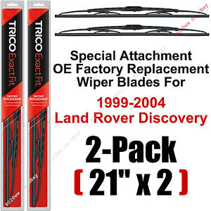 99 04 Land Rover Discovery Wiper Blades Set Of 2 21 Special Trico 21 11 x2