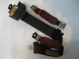 Ford Mustang Convertible Passenger Rear Seat Belt 1989 1990 1991 1992 1993 Oem