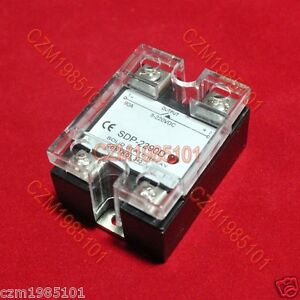 Solid State Relay Ssr Dc dc 25a 3 32vdc 5 220vdc 90a For Crydom D1d90 d1d100