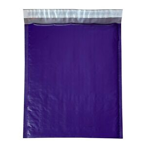 100 2 Purple Poly Bubble Mailers Envelopes Bags 8 5x12 Colors Stand Out