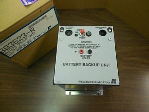 New Reliance Electric 803623 r Battery Backup Unit Dcs Drive W Tester Button