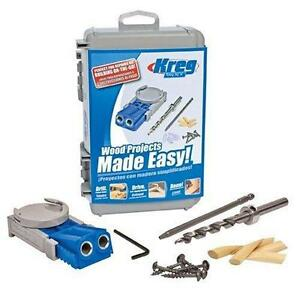 Pocket Hole Jig System perfect For Repairs Or Building On the go