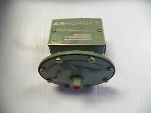 New Ashcroft Snap Action Switch 61s 6280 61s6280 125 250 Vac Psi 15a 15 A Amp