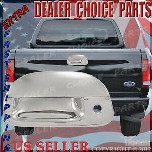 1997 98 99 00 01 02 2003 Ford F150 Chrome Tailgate Handle Cover W Key Hole