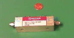 Rf Microwave Bandpass Filter 3950 Mhz Center 720 Mhz Bw Power 10 Watt Cw Data