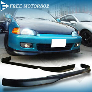 Fit 1992 1995 Honda Civic Eg T r 4dr Pp Front Type R Rear Bumper Lip