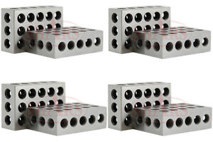 Shars 4 Matched Pair 8 1 2 3 123 Block Set Precision 0 0002 Machinist New