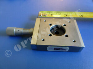 Newport Micro controle Mr50 16 Linear Translation Stage With Micrometer