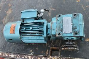 Sew eurodrive Motor Dft80k4bmg1hr With Gear Box