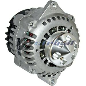 High Output Billet Alternator For Chevy Buick Amc Gm Gmc Bbc Hotrod 3 Wire 180a