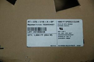Raychem M23053 18 202 c Heat Shrink Tube Rt 375 1 16 x sp Free Shipping 5 M