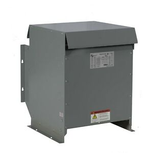 45kva Dry Type Transformer 240 208y 120 Volt 3 Phase New Free Shipping