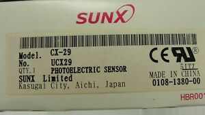 New Sunx Retro Reflective Sensor Cx 29 Ucx29
