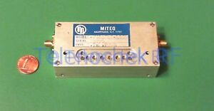 Rf If Microwave Bandpass Filter With Integrated Isolator 3 9 Ghz 690 Mhz Bw Data