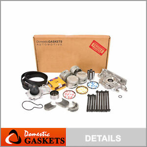 Fits 96 99 Plymouth Breeze Dodge Neon 2 0l Sohc Master Overhaul Engine Kit