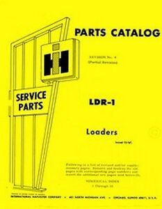 International Farmall Loader Tractor T 340 T340 3040 A Parts Catalog Manual Ih