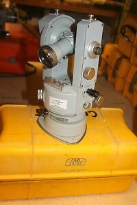 Zeiss Th43 Theodolite Transit