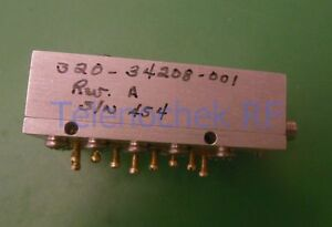 Rf If Microwave Bandpass Filter 6 620 Ghz 400 Mhz Bw Data