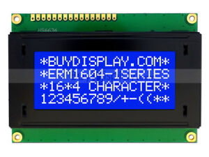 5v Blue 16x4 Character Lcd Module Display W tutorial hd44780 white Backlight