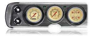 Classic Instruments 64 65 Chevelle Package W Vintage Gauges Instrument Cluster
