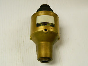 Johnson Corp Single Flow Rotary Union 4100 Wr 12d16125 1 2 12 Rh R Hand 1 Npt