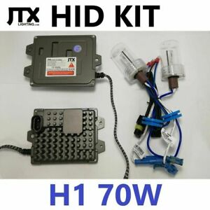 H1 Hid Kit 70w Cibie Super Oscar Britax X Ray Vision Spot Driving Lights