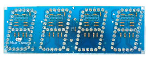 3 Ultra Bright Leds 4 Digits Seven Segment Display 12 Vdc Mxa006