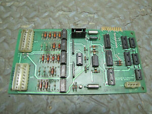 Monarch Cortland Cnc Interface Board E49613 E49612 Rev D