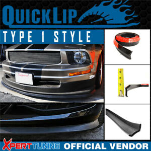For Ford Type 1 Quick Lip Universal Front Bumper Chin Splitter Ez 100 Inch