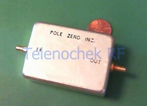 Rf If Microwave Bandpass Filter 70 Mhz Cf 24 Mhz Bw Data