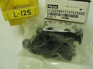 New Box Opened Parker Hydraulic Valve 01041 p