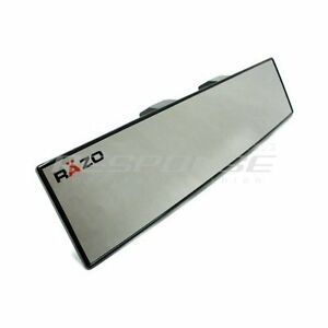 Razo Rg23 Clip On Wide Rear View Mirror 300mm 12 Convex Universal Fitment Jdm