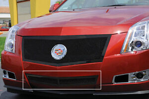2009 2010 2011 2012 2013 Cadillac Cts 1pc Black Bumper Mesh Grille Grill T Rex