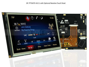 7 7inch Tft Lcd Module Touch Panel Screen Display ssd1963 Controller W tutorial