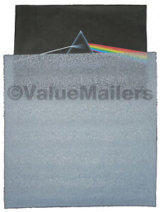 Insert Pads Sleeves 100 Lp Record Mailers Foam Pads Albums Scrapbook 12 25x12 25