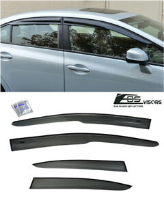 For 12 15 Honda Civic Mugen Ii Style Window Visors Rain Guard Defector Fb6 4dr