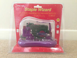 Rexel Staple Wizard Battery Operated Stapler Free Uk Delivery