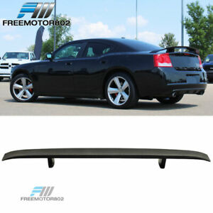 For 06 10 Dodge Charger Factory Style Rear Wing Trunk Spoiler Abs