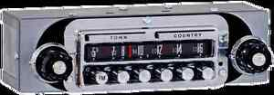 1956 57 Ford Thunderbird Am fm Town And Country Stereo Radio