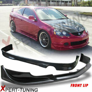 Fits 02 04 Acura Rsx Dc5 Mugen Style Front Rear Bumper Lip Spoiler