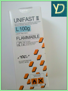 Dental Gc Unifast Iii Self curing Acrylic Resin For Temporary Inlays Free Ship