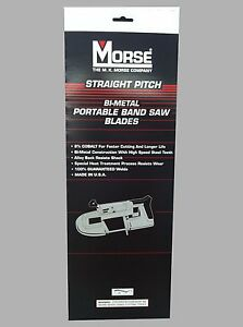 Mk Morse Zwep3224w 32 7 8 X 24 Tpi Bi metal Portable Band Saw Blade 10 Pk
