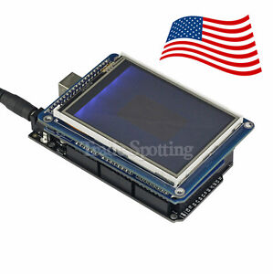 Sainsmart Mega2560 R3 3 2 Tft Touch Lcd sd Card Tft Shield For Arduino Us