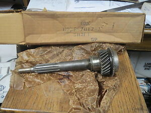 Nos 1979 Ford Mustang Capri 4 Speed Transmission Input Shaft 6 Cyl Rug Da