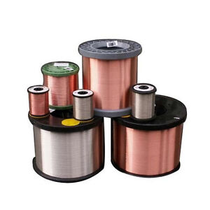 0 405mm 20m Awg 26 gaugeenameled 100 copper Magnet Wire Conductor Windingjewelry
